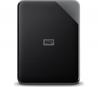 Save £10 at Currys on WD Elements SE Portable Hard Drive - 4 TB, Black, Black