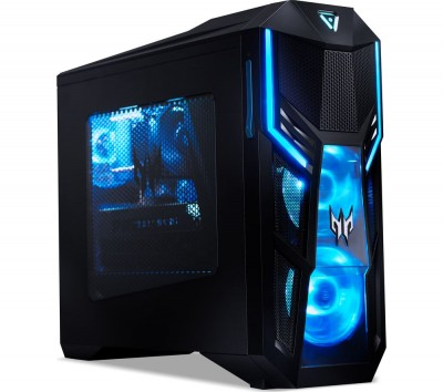 Save £200 at Currys on Predator Orion 5000 Gaming PC - Intel®? Core™? i7, RTX 2080, 1 TB HDD & 512 GB SSD