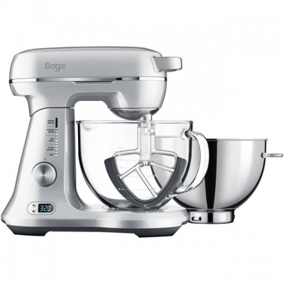 Save £100 at AO on Sage The Bakery Boss BEM825BAL Stand Mixer with 4.7 Litre Bowl - Silver