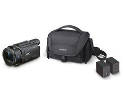 Save £90 at Currys on SONY FDR-AX53 Ultra HD 4K Camcorder with Battery Pack & Carry Case - Black