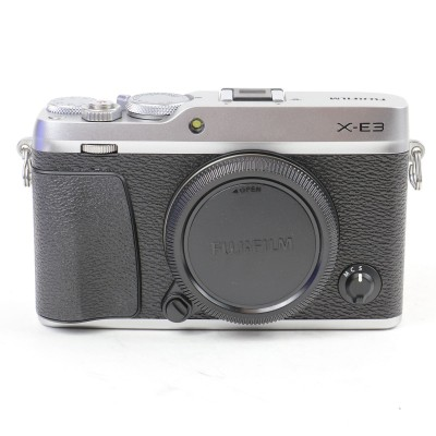 Save £60 at WEX Photo Video on Used Fujifilm X-E3 Digital Camera Body - Silver