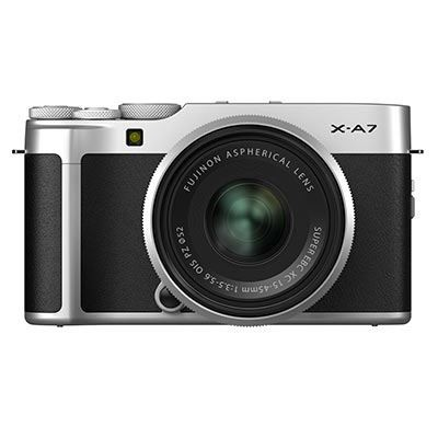 Save £100 at WEX Photo Video on Fujifilm X-A7 Digital Camera with XC 15-45mm Lens - Silver
