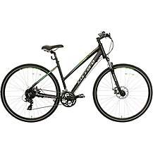 Save £99 at Halfords on Carrera Crossfire 2 Womens Hybrid Bike - Blac