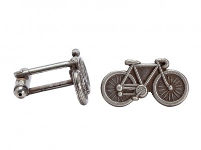 Save £6 at Argos on Tour de France Silver Colour Bicycle Cufflinks
