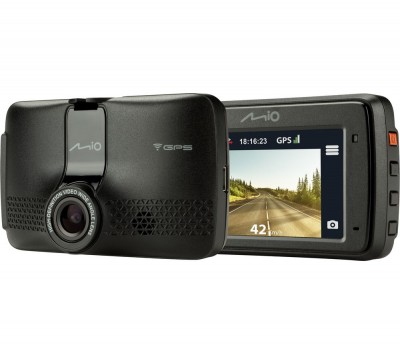 Save £11 at Currys on MIO MiVue 733 Full HD Dash Cam - Black, Black