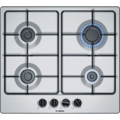 Save £43 at AO on Bosch Serie 4 PGP6B5B80 58cm Gas Hob - Stainless Steel