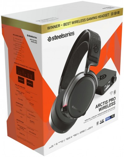 Save £50 at Argos on SteelSeries Arctis Pro Wireless PS4 Headset - Black