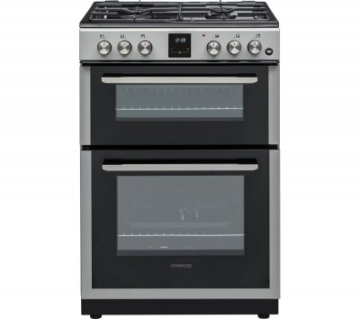 Save £50 at Currys on KDG606S19 60 cm Gas Cooker - Silver, Silver