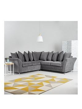 Save £280 at Very on Dury Fabric Corner Group Scatter Back Sofa