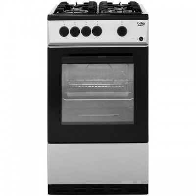 Save £30 at AO on Beko KSG580S 50cm Gas Cooker - Silver - A Rated
