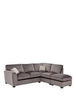 Save £850 at Very on Odion Fabric Right Hand Corner Group Standard Back Sofa