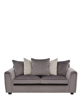 Save £450 at Very on Odion Fabric 3 Seater Scatter Back Sofa