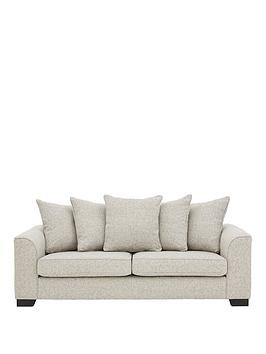 Save £200 at Very on Caspian Fabric 3 Seater Scatter Back Sofa