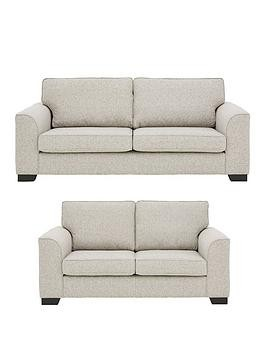 Save £400 at Very on Caspian Fabric 3 Seater + 2 Seater Standard Back Sofas (Buy And Save!)