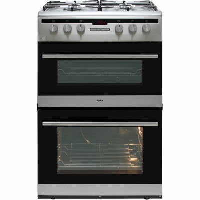 Save £60 at AO on Amica AFG6450SS 60cm Gas Cooker with Full Width Gas Grill - Stainless Steel - A/A Rated