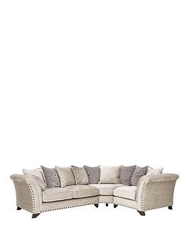 Save £450 at Very on Caprera Fabric Right Hand Scatter Back Corner Group Sofa