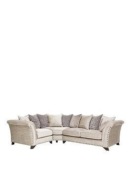 Save £450 at Very on Caprera Fabric Left Hand Scatter Back Corner Group Sofa