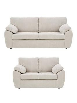 Save £100 at Very on Dixie Fabric 3 Seater + 2 Seater Sofa Set (Buy And Save!)