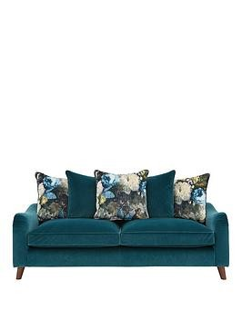 Save £200 at Very on Nova Fabric 3 Seater Scatter Back Sofa