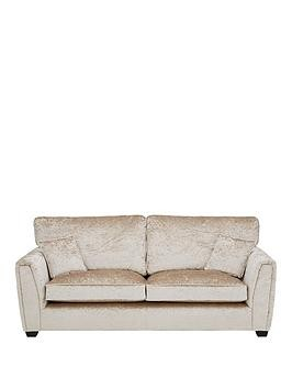 Save £450 at Very on Glitz Fabric Standard Back 3 Seater Sofa