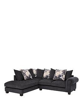 Save £300 at Very on Belgravia Fabric Left Hand Scatter Back Corner Group Sofa