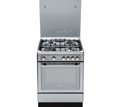 Save £51 at Currys on HOTPOINT DHG65SG1CX Gas Cooker - Stainless Steel, Stainless Steel