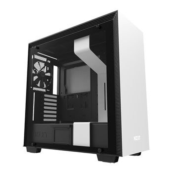 Save £21 at Scan on NZXT White H700 Tempered Glass Window Tower PC Gaming Case