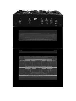 Save £40 at Very on Beko Kdg611K 60Cm Gas Cooker With Full Width Gas Grill - Black