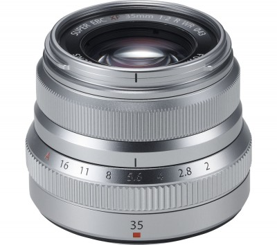 Save £60 at Currys on FUJIFILM Fujinon XF 35 mm f/2 R WR Standard Prime Lens