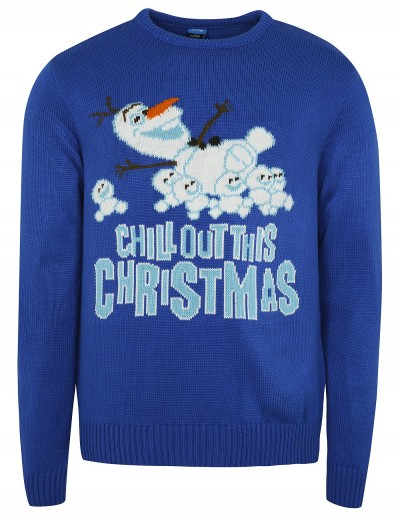 Disney Frozen Olaf Christmas Jumper